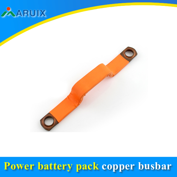 Electrical equipment wire connector flexible copper braids connection