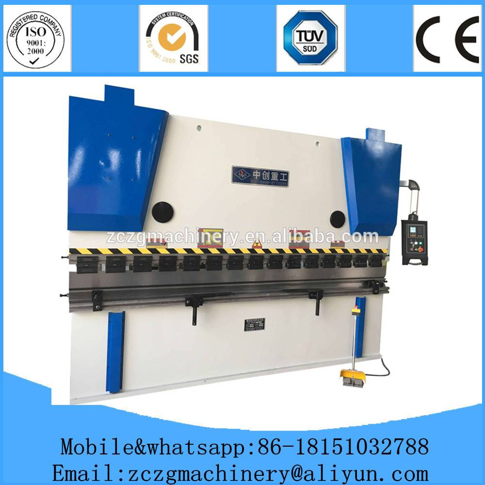 Manual steel press brake and bender,metal bending machine for folding all kinds of sheets