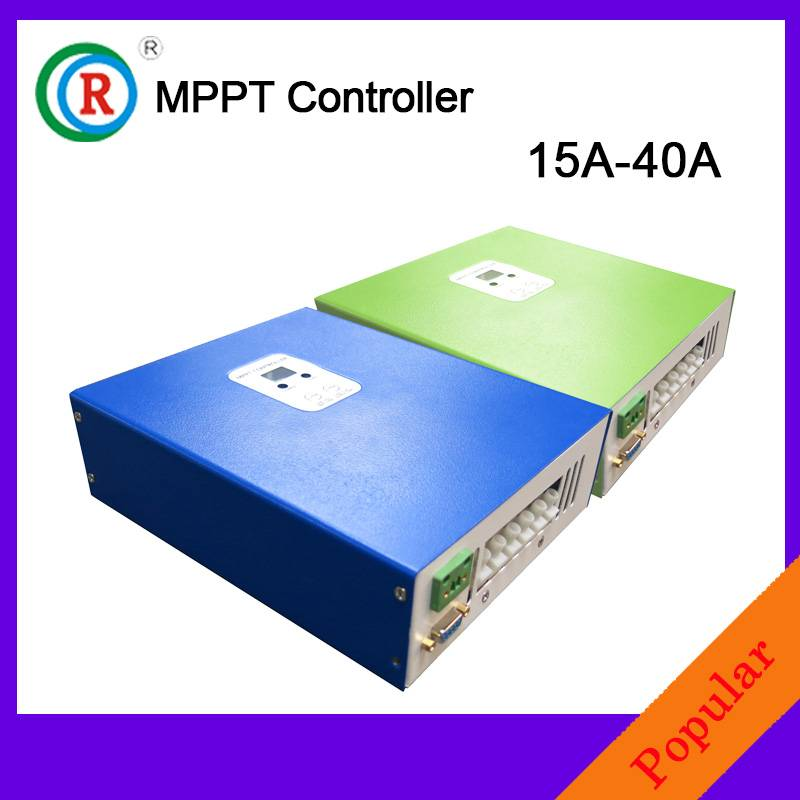 latest style MPPT solar charge controller with LCD display