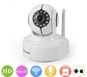 Indoor Wireless Wifi IP Camera HD Dome IP Camera With Android IPhone APP