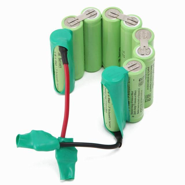 NI-MH battery pack with high rate discharge