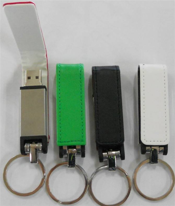 Mini OEM Leather USB Flash Drive Memory Stick