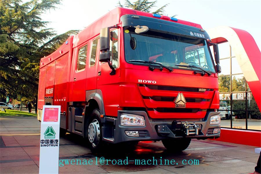 Fire Fighting Truck Sinotruk Howo 4x2 6m3 With Foam Water Tank,ZZ1167M4617C