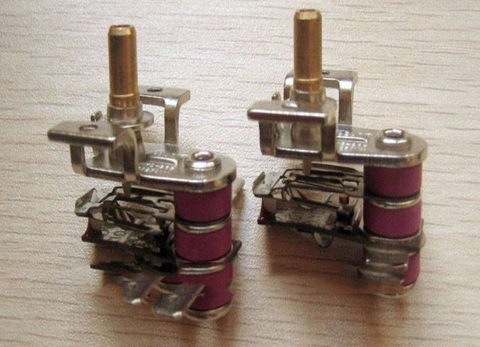 Bimetal Thermostat, Used in Oven and Heater
