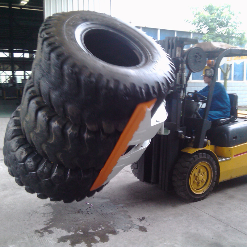 Efficiently Forklift Attachment Type Clamp Rotating