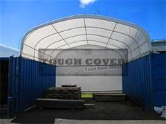6m Wide Container Shelter Tent, TC2020C, TC2040C