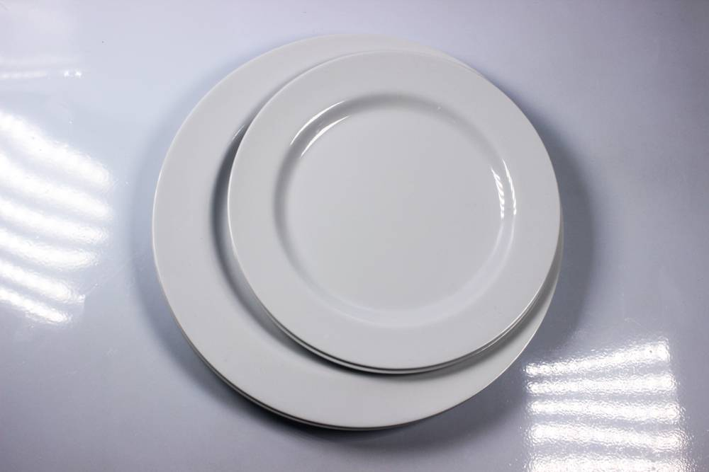 8 and 10'' flat melamine plate