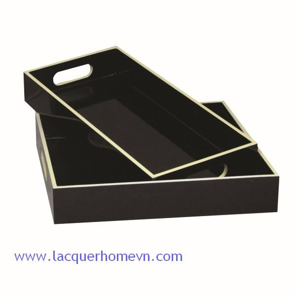 HT6173 lacquer serving tray Vietnam