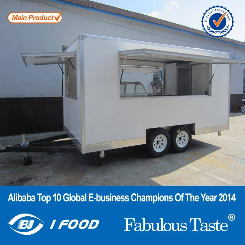 Kebab Food Trailer Manufacturer