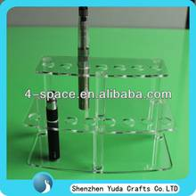 acrylic display rack for e-cig, manufacture plexiglass e-cigarette display