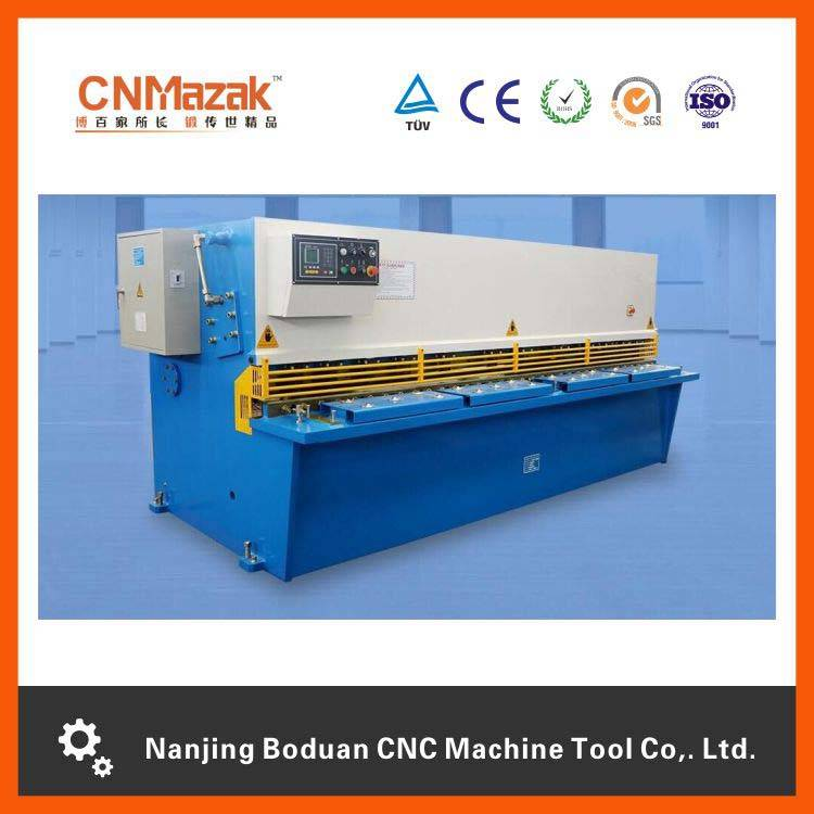 Most popular CNC,high standard plate shearing machine