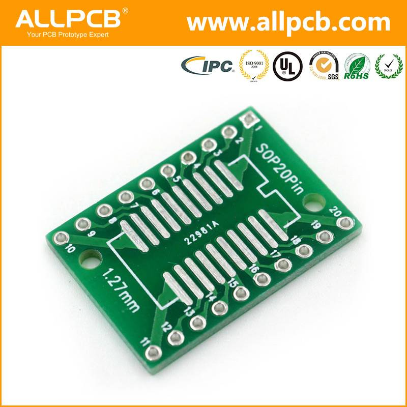Popular high quality FR-4 pcb circuit board prototype