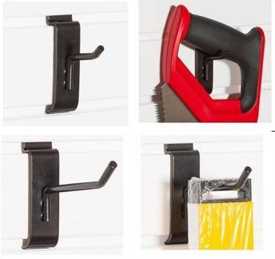 slatwall storage hooks