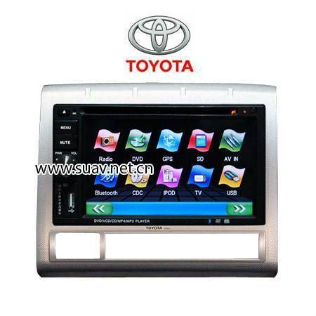 Toyota Tacoma Car DVD Media Player 6.2Monitor With RDS Bluetooth IPOD GPS navi