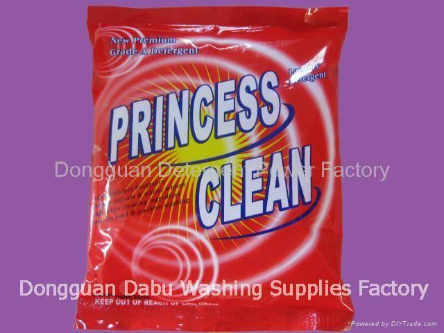 350g Princess clean high perfume detergent powder(DB-26)
