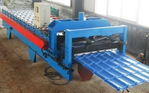 CE standard metal tile making machinery