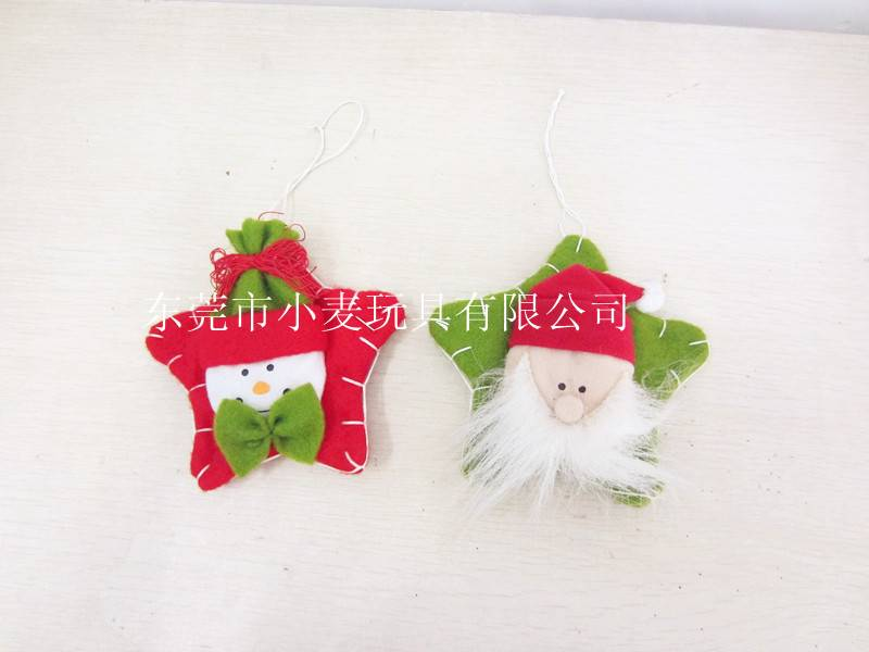 Non woven star christmas decoration