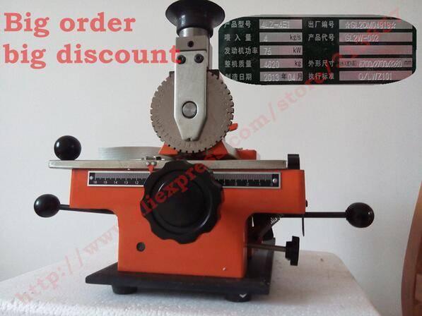 metal stainless steel stamping printer embossing nameplate marking machine tools Engraving Machine