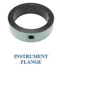 Instrument flange of Heat exchanger parts