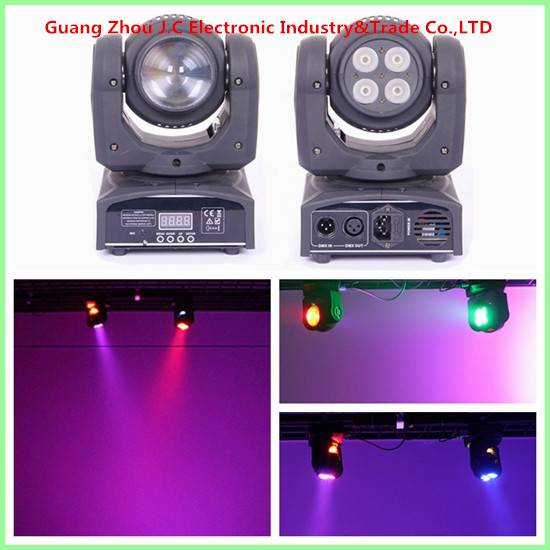 Double faced mini led moving head for stage disco dj nightclub