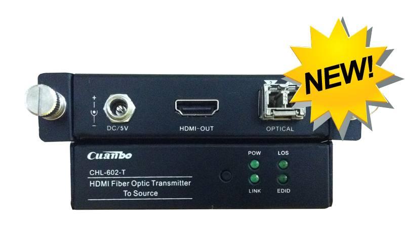 4k2k HDMI Fiber Optic Extender