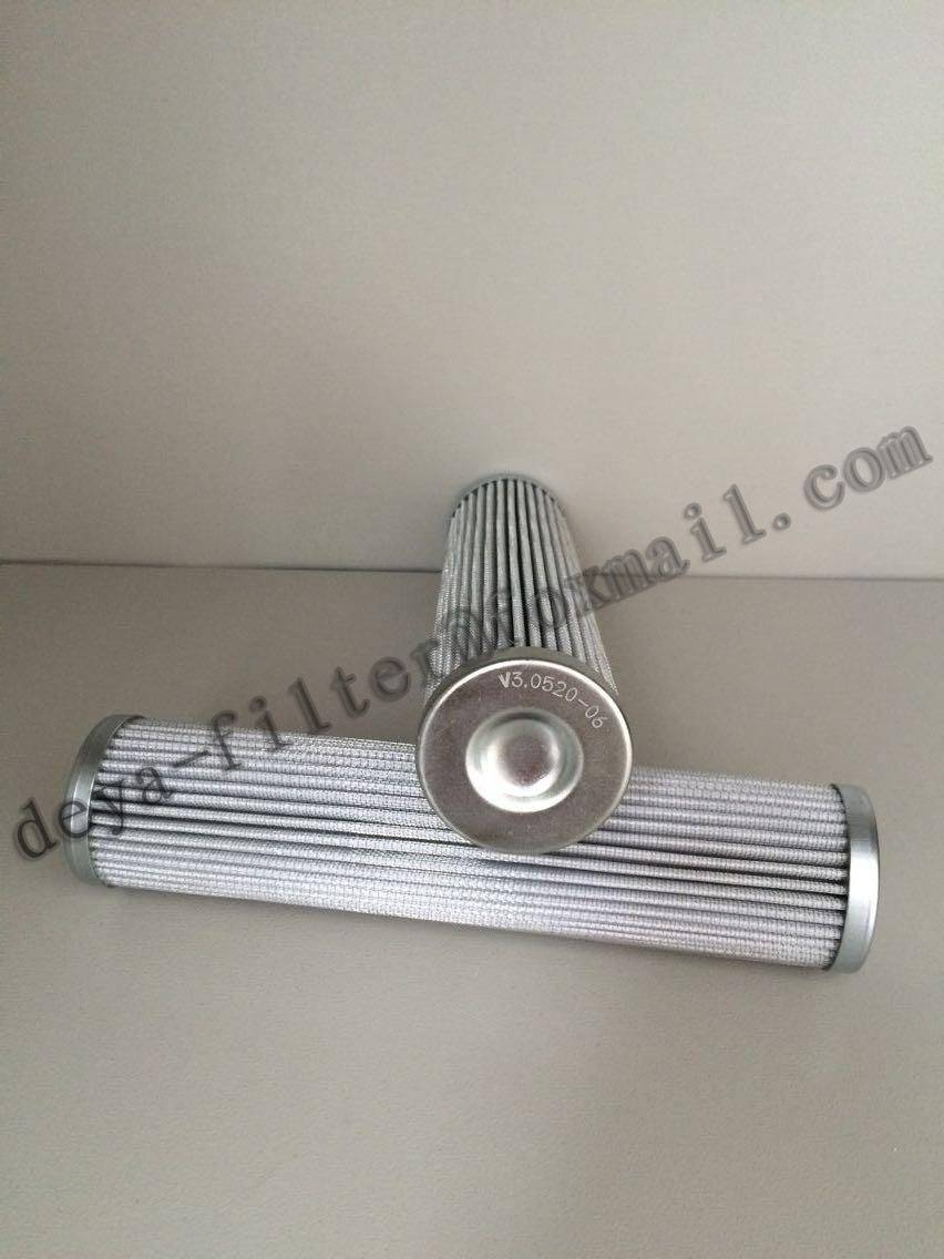 Pressional Oil Filter Element for Hydraulic Oil and Lubricating Oil