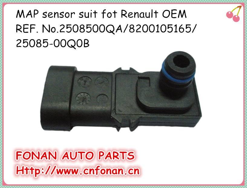 Intake manifold pressure sensor suit for Renault OE 2508500QA/8200105165/25085-00Q0B