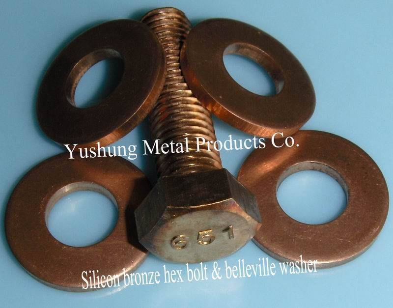 Silicon Bronze Belleville Lockwasher