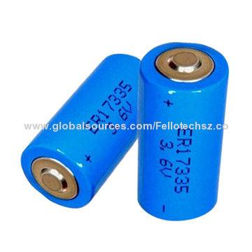 LiSOCL2 battery 3.6v ER17335 lithium thionyl chloride battery for radio-communication GPS tracking