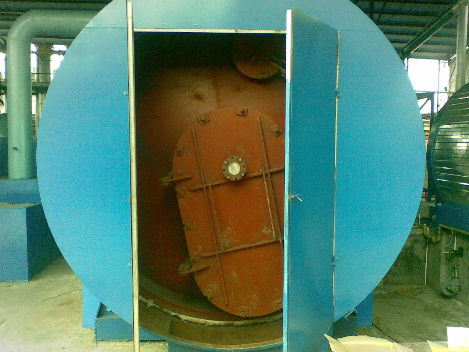 waste rubber pyrolysis machine