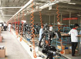 Supplying CKD Parts and Setting Up An Assembly Line