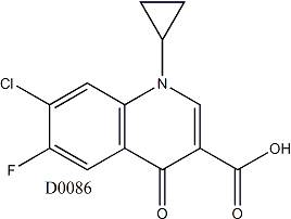 7-Chloro-1-cyclopropyl-6-fluoro-4-oxoquinoline-3-carboxylicacid