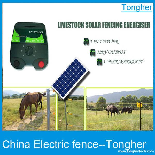 Cattle electric fence system TH-polar energizer