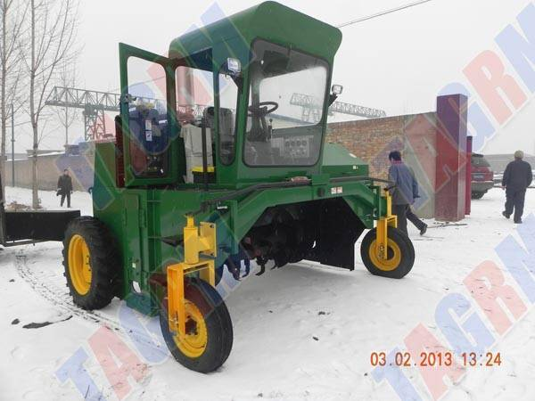 Environment protecting solid Waste Management machine