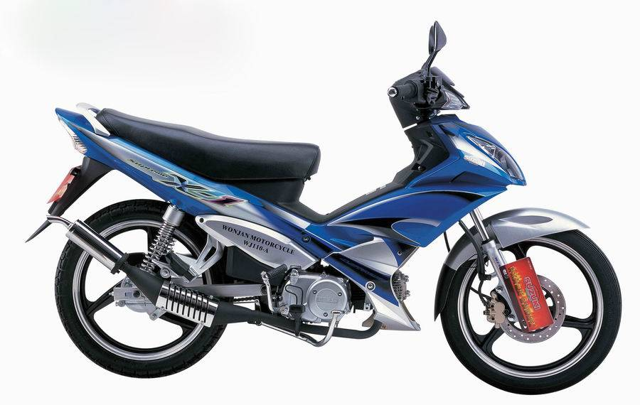 Sell 110cc Motorcycle/Scooter/WJ110-A(Suzuki JV engine)