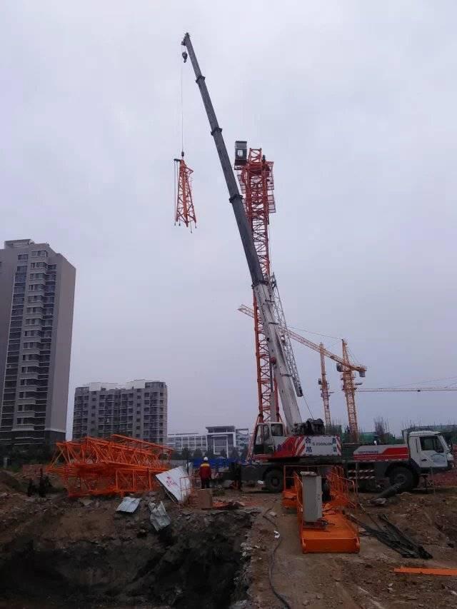 QTZ63(5010)double Tower Cranes