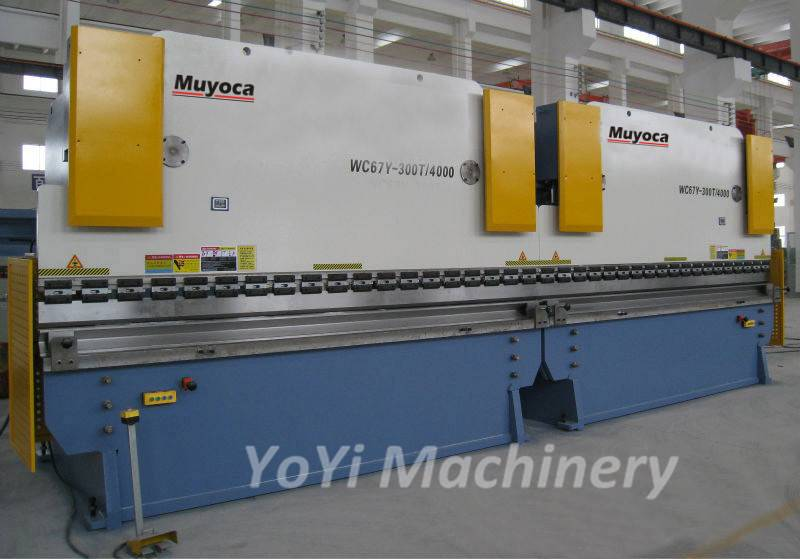 steel poles cnc tandem press brake