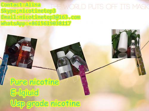 Hot sell Usp grade pure nicotine (99.95%) by Xi'an Taima
