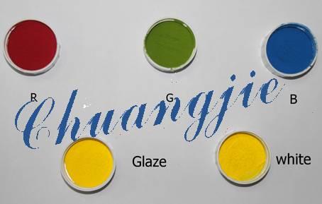 laser ceramic toner RGB and white,glaze ceramic toner