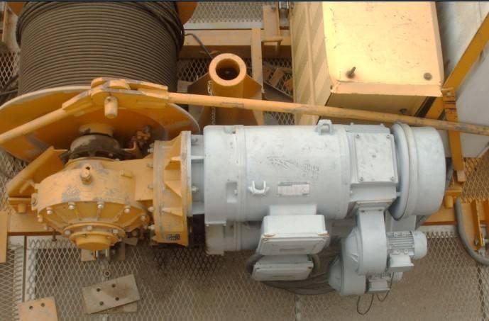 70RCS mechanism-tower crane spare parts