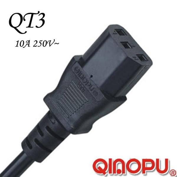 American Iec 60320 C13 Power Cord