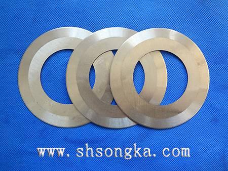 Pneumatic pipe cutting machine, a round blade, pneumatic pipe cutting machine is set of blade