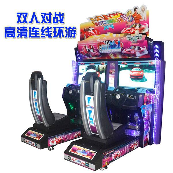 Indoor Simulator game machine Luxury 32LCD Outrun Racing Game Machine