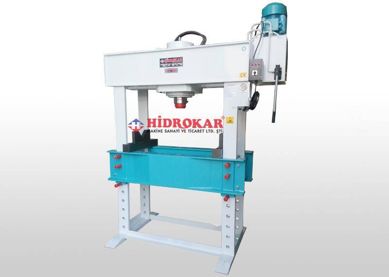 hydraulic workshop press 10-600 tons