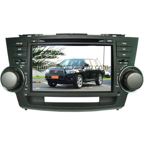 All-in-one Special Car DVD Player For Toyota Highlander