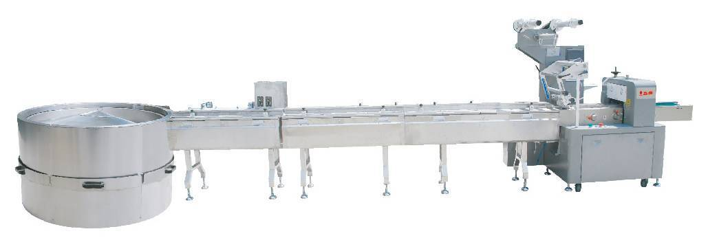 Automatic rice bar feeding & packing line
