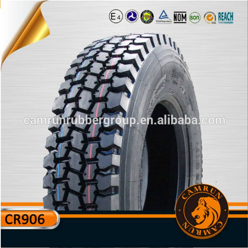 Radial Truck Tyre/Tire Hot Sale with different sizes , Patterns made of Natural Rubber