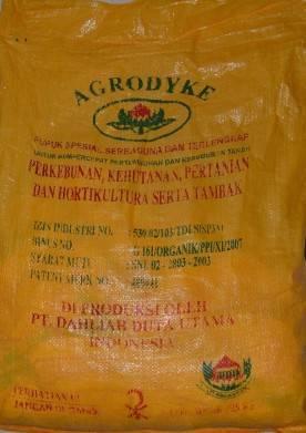 AGRODYKE Organic Fertilizer