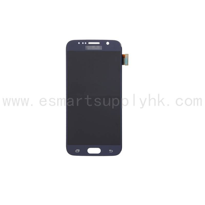 original mobile parts lcd display for samsung s6 series