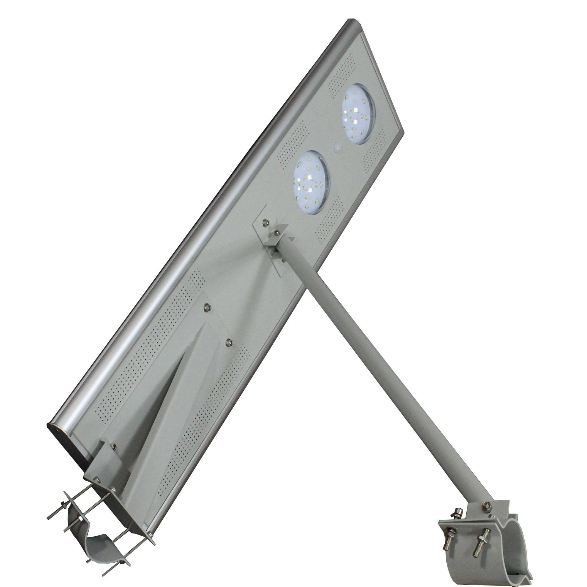 Integrated solar street lights with high brightness 30W USA LED